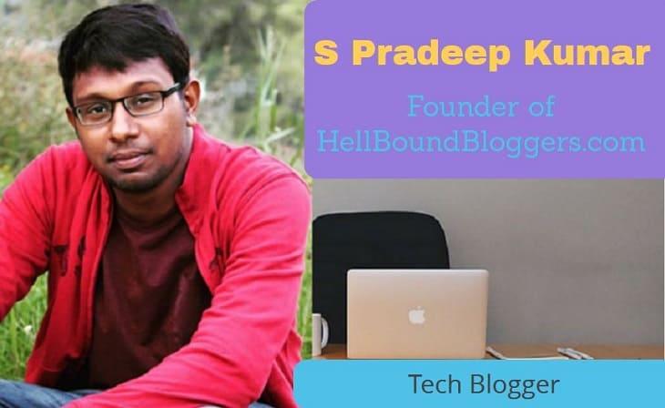 top indian bloggers S-Pradeep-Kumar-badteraho