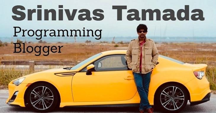 top indian bloggers Srinivas-Tamada-badteraho